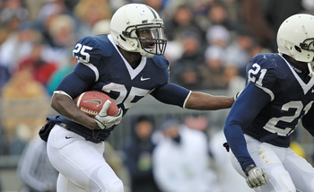 Silas Redd looks to follow in the long line of great Penn State rushers.
