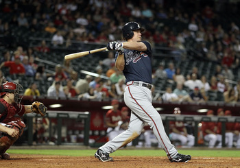 Chipper Jones is one of only four active players with at least 500 doubles.