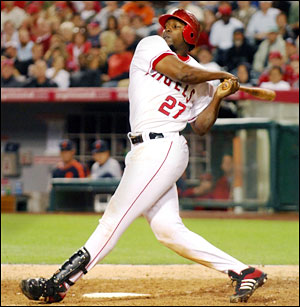 Vladimir Guerrero is a prime candidate to be traded at the deadline