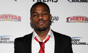 LAS VEGAS, NV - DECEMBER 01:  Mixed martial artist Jon Jones arrives at the third annual Fighters Only World Mixed Martial Arts Awards 2010 at the Palms Casino Resort December 1, 2010 in Las Vegas, Nevada.  (Photo by Ethan Miller/Getty Images)