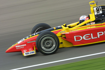 11 May 2001: Scott Sharp drives his Kelley Racing Oldsmobile Dallara during Friday practice in preparation for Saturday's pole day qualifying for the Indianapolis 500, at the Indianapolis Motor Speedway, in Indianapolis, Indiana. Digital Image. Mandatory