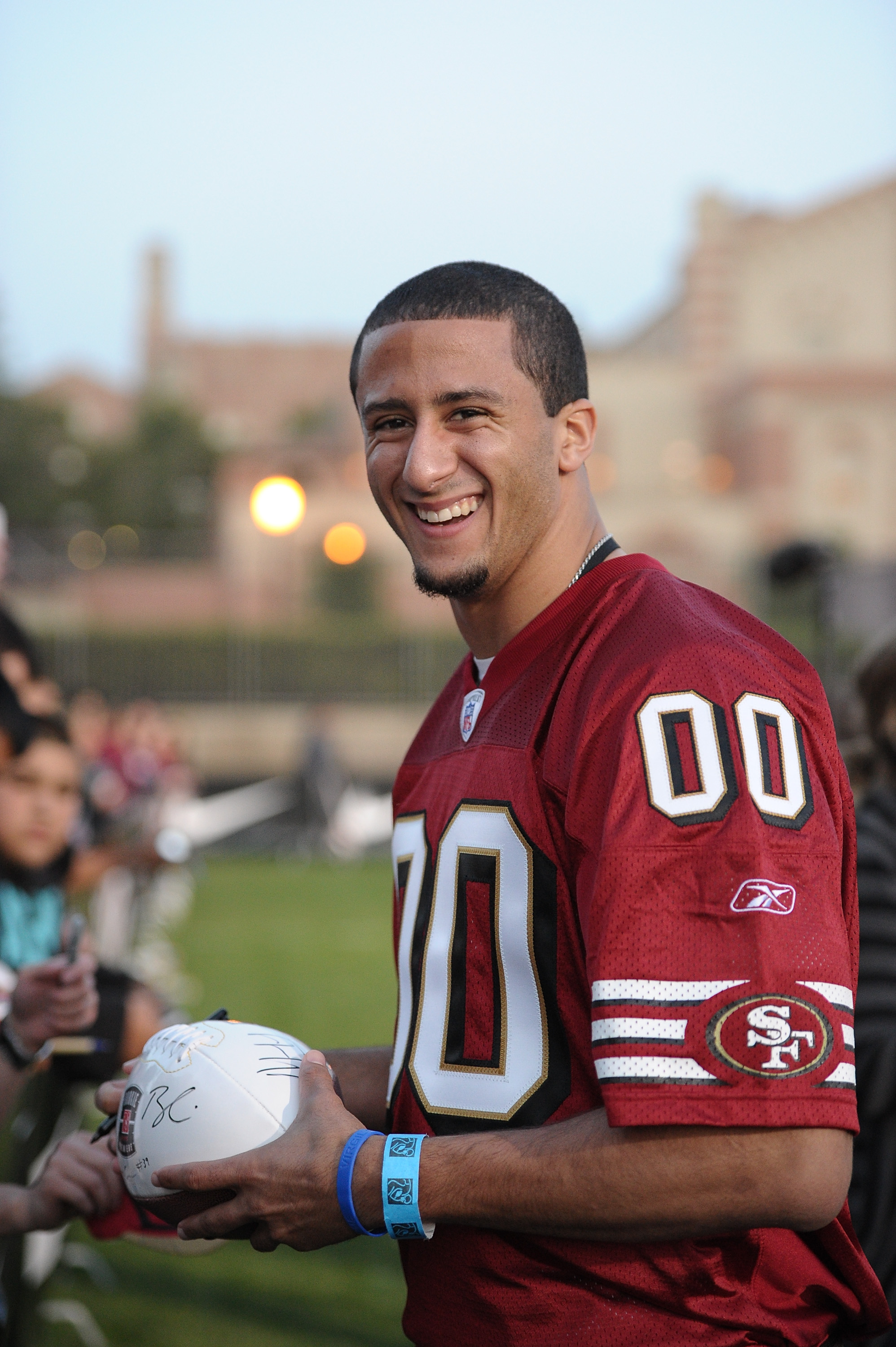 LOS ANGELES, CA - MAY 20:  Colin Kaepernick attends the NFL PLAYERS Premiere League Flag Football Game at UCLA on May 20, 2011 in Los Angeles, California.  (Photo by Noel Vasquez/Getty Images)