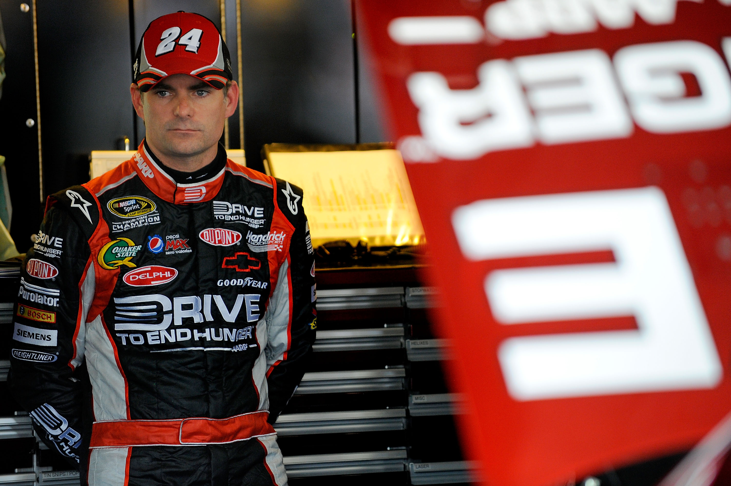 Jeff Gordon is one of five drivers who need to consider retirement