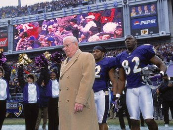 No Browns fan will ever forgive Art Modell for moving the team.