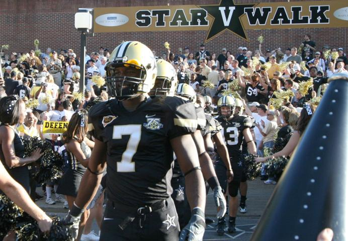 Vandy on the first slide? Why not? It's the only place they will be first this upcoming season.