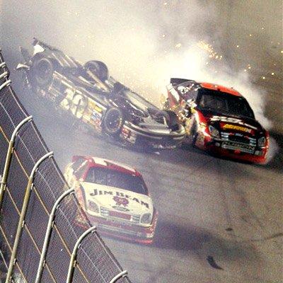 NASCAR: The 25 Most Ridiculous Crash Photos in Sprint Cup