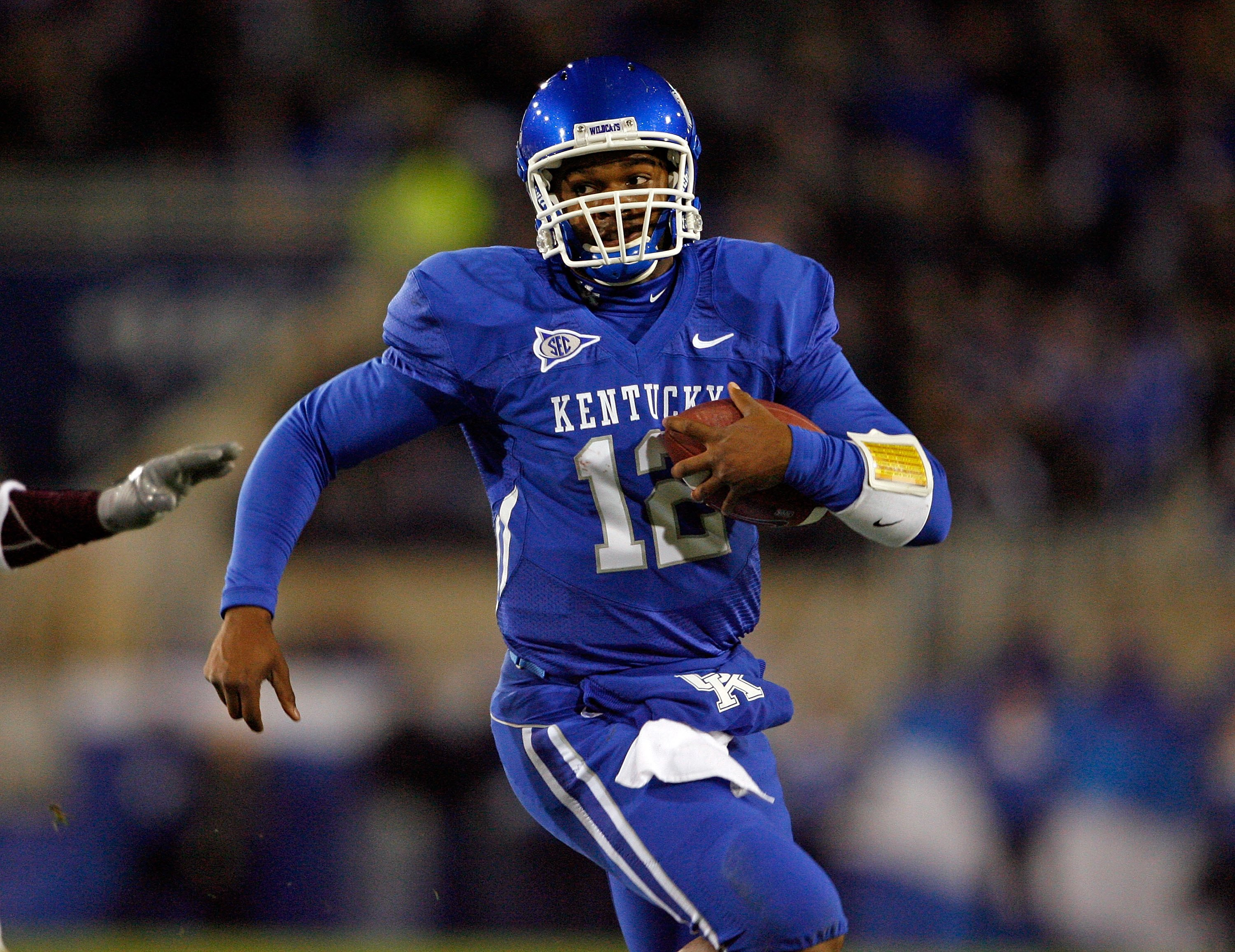 If Morgan Newton is running for his life this fall, the Cats are going to have some issues.
