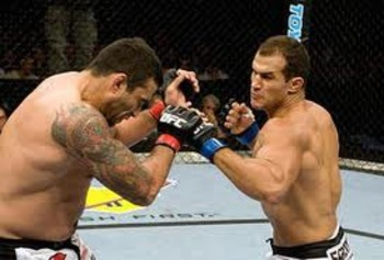 JDS destroying Fabricio Werdum in his UFC debut