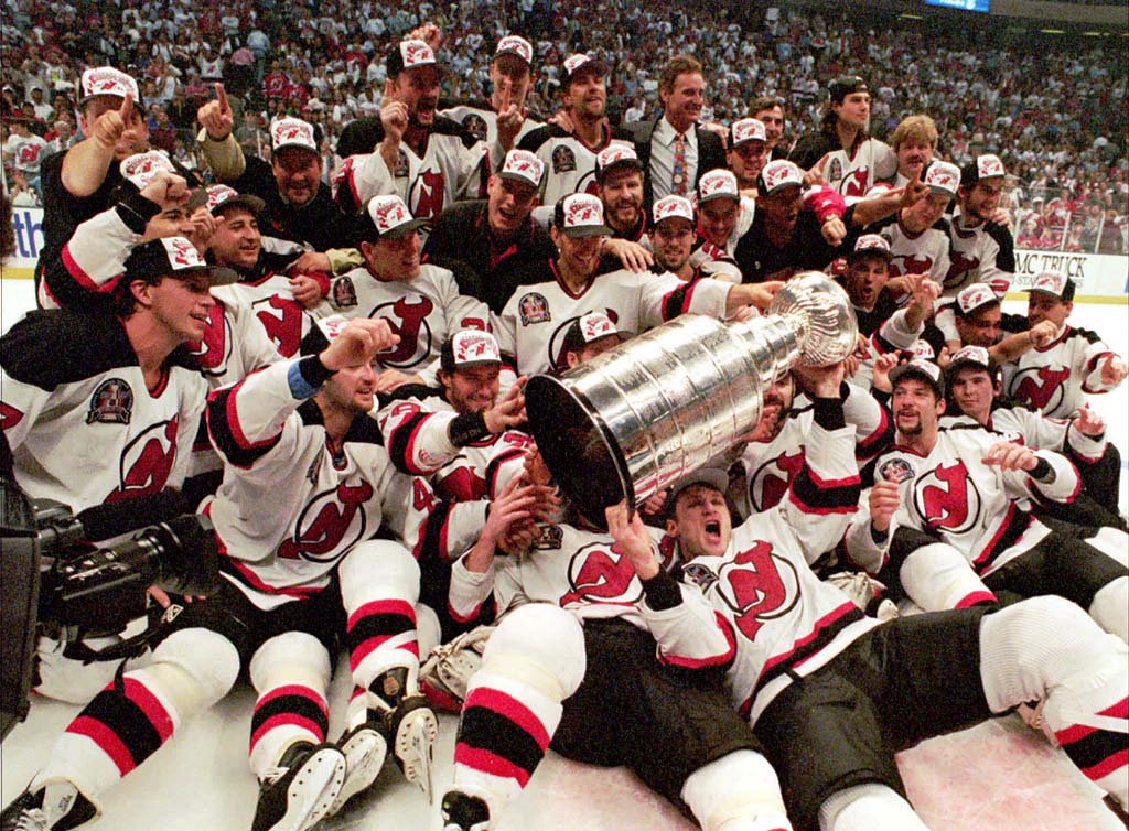 The New Jersey Devils were expected to be a Stanley Cup contender in 1995.  The previous season ended with a heartbreaking Game 7 loss in the Eastern  ... e8100496127