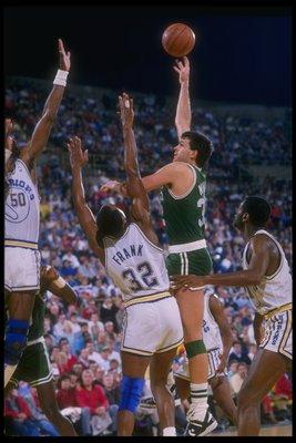 McHale was a  technician on the low block.