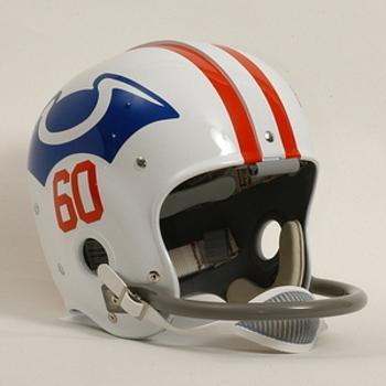 1960 Patriots AFL helmet