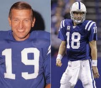 Many franchises are lucky to have one great QB. The Colts have been blessed with a pair.