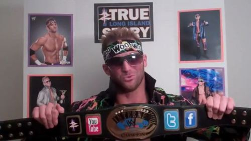 Zack Ryder is the reigning Internet Champion!