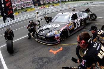 LONG POND, PA - JUNE 12:  Ryan Newman, driver of the #39 Haas Automation Chevrolet, makes a pit stop during the NASCAR Sprint Cup Series 5-Hour Energy 500 at Pocono Raceway on June 12, 2011 in Long Pond, Pennsylvania.  (Photo by John Harrelson/Getty Image