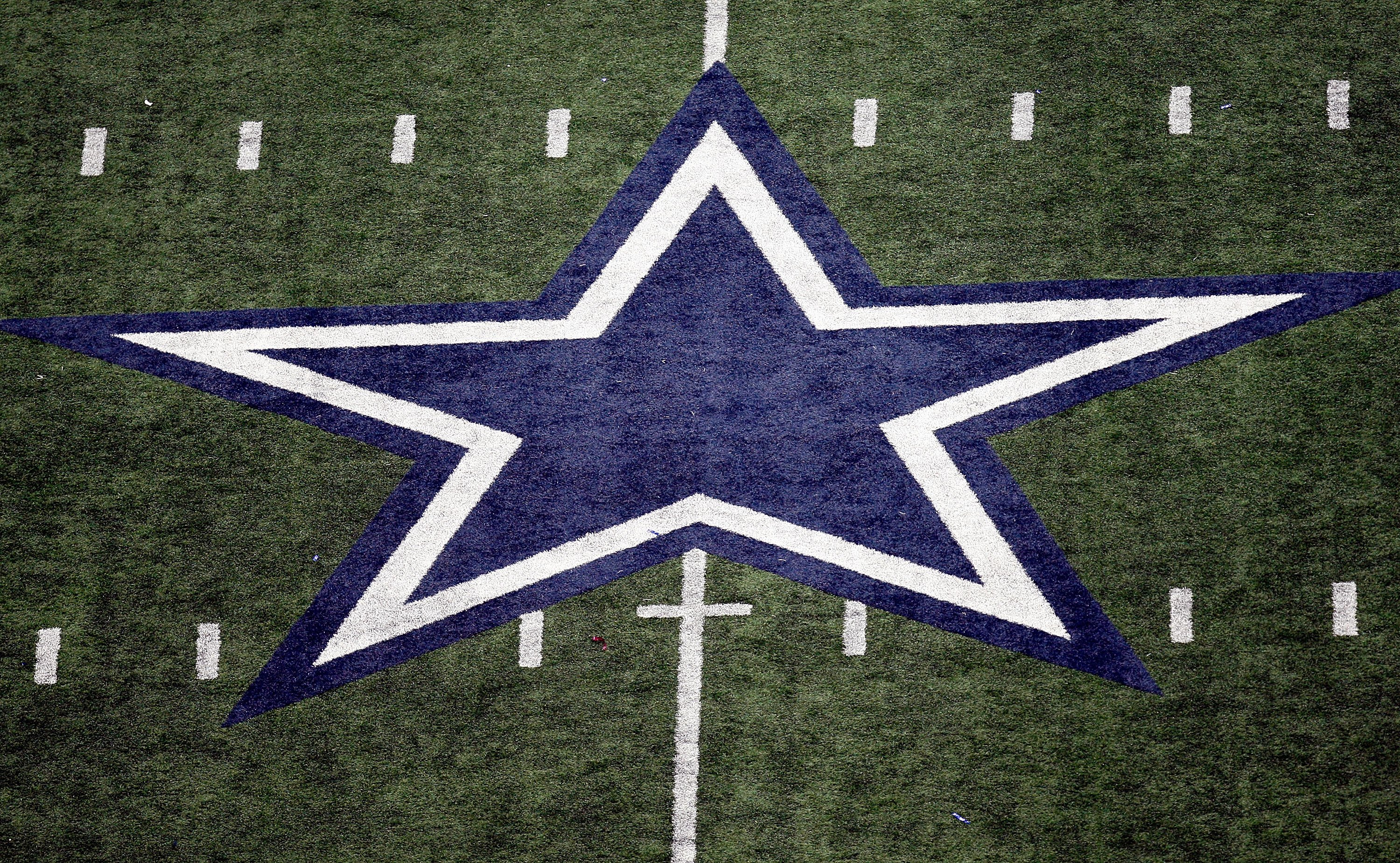 ARLINGTON, TX - NOVEMBER 01:  The star at Cowboys Stadium on November 1, 2009 in Arlington, Texas.  (Photo by Ronald Martinez/Getty Images)