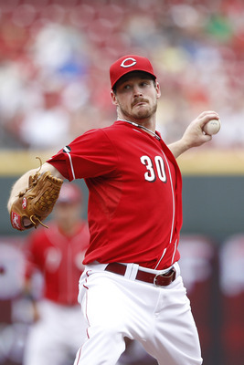 CINCINNATI, OH - JUNE 5: Travis Wood #30 of the Cincinnati Reds pitches against the Los Angeles Dodgers at Great American Ball Park on June 5, 2011 in Cincinnati, Ohio. The Dodgers defeated the Reds 9-6. (Photo by Joe Robbins/Getty Images)