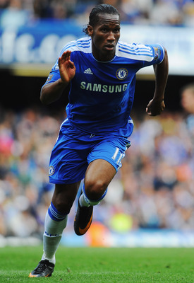 LONDON, ENGLAND - MAY 15:  Didier Drogba of Chelsea in action during the Barclays Premier League match between Chelsea and Newcastle United at Stamford Bridge on May 15, 2011 in London, England.  (Photo by Mike Hewitt/Getty Images)