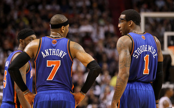 Carmelo can learn a lot from Amar'e's—in more ways than one