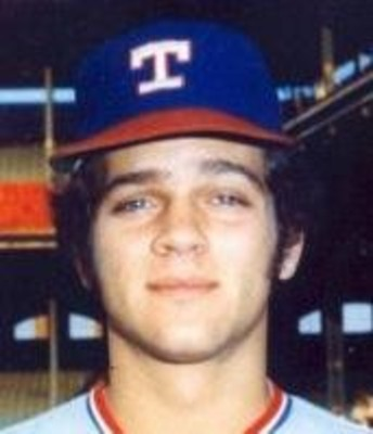 David Clyde.  The all-time worst draft pick in Texas Rangers' history. But man, were those some sweet sideburns or what?