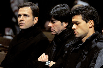 Oliver Bierhoff, Joachim Löw and Michael Ballack had seen better days