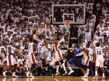 Dirk Nowitzki hit the game winning layup with the three seconds left in Game 2.