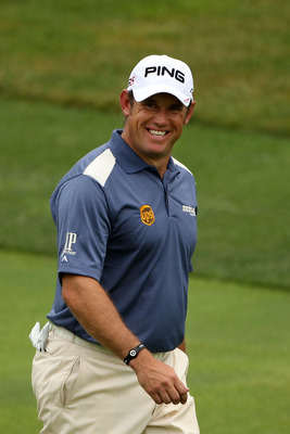 BETHESDA, MD - JUNE 19:  Lee Westwood of England walks up a fairway during the final round of the 111th U.S. Open at Congressional Country Club on June 19, 2011 in Bethesda, Maryland.  (Photo by Andrew Redington/Getty Images)