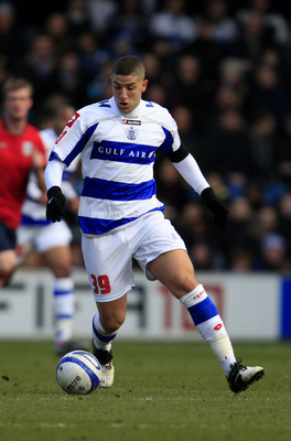 LONDON, ENGLAND - MARCH 6:  Adel Taarabt of QPR during the Coca Cola Championship match between Queens Park Rangers and West Bromwich Albion, at Loftus Road on March 6, 2010 in London, England. (Photo by Jed Leicester/Getty Images)