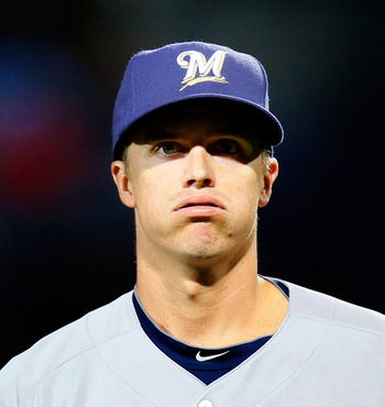 The Brewers are still waiting on a dominant Zack Greinke.  Will he rebound in the second half?