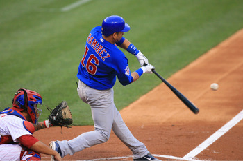 PHILADELPHIA - JUNE 9: Third baseman Aramis Ramirez #16 of the Chicago Cubs bats during a game against the Philadelphia Phillies at Citizens Bank Park on June 9, 2011 in Philadelphia, Pennsylvania. (Photo by Hunter Martin/Getty Images)