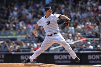 If Phil Hughes can regain his fastball velocity, the AL East better watch out.