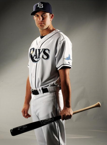 PORT CHARLOTTE, FL - FEBRUARY 20: Evan Longoria #3 of the Tampa Bay Rays poses during Photo Day on February 20, 2009 at the Charlotte County Sports Park in Port Charlotte, Florida.  (Photo by Nick Laham/Getty Images)