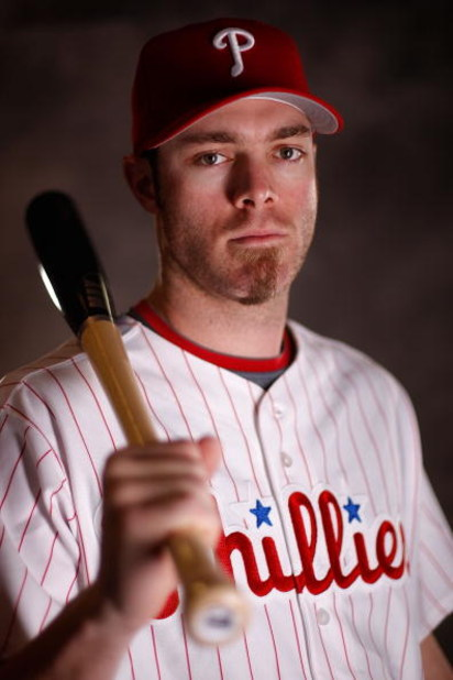 CLEARWATER, FL - FEBRUARY 20:  Jayson Werth #28 of the Philadelphia Phillies poses for a photo during Spring Training Photo day on February 20, 2009 at Bright House Networks Field in Clearwater, Florida.  (Photo by Chris Graythen/Getty Images)
