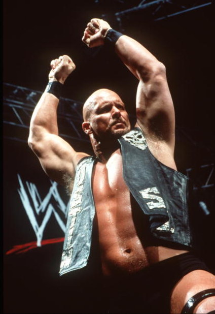370782 08: World Wrestling Federation's Wrestler Steve Austin Poses June 12, 2000 In Los Angeles, Ca.  (Photo By Getty Images)