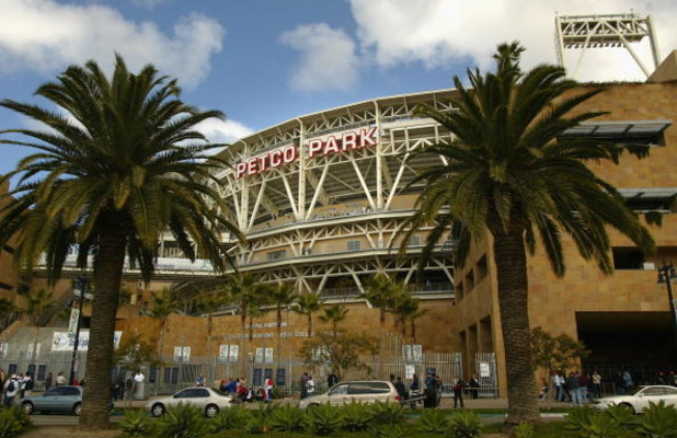 SAN DIEGO - MARCH 18:  General view of the exterior of Petco Park before the Semi Final game of the World Baseball Classic between Team Cuba and Team Domincan Republic at Petco Park on March 18, 2006 in San Diego, California.  (Photo by Christian Petersen