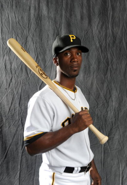 BRADENTON, FLORIDA - FEBRUARY 22: Andrew McCutchen #22 of the Pittsburgh Pirates poses during photo day at the Pirates spring training complex on February 22, 2008 in Bradenton, Florida. (Photo by Rob Tringali/Getty Images)