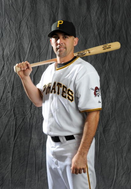 BRADENTON, FLORIDA - FEBRUARY 22: Jack Wilson #2 of the Pittsburgh Pirates poses during photo day at the Pirates spring training complex on February 22, 2008 in Bradenton, Florida. (Photo by Rob Tringali/Getty Images)