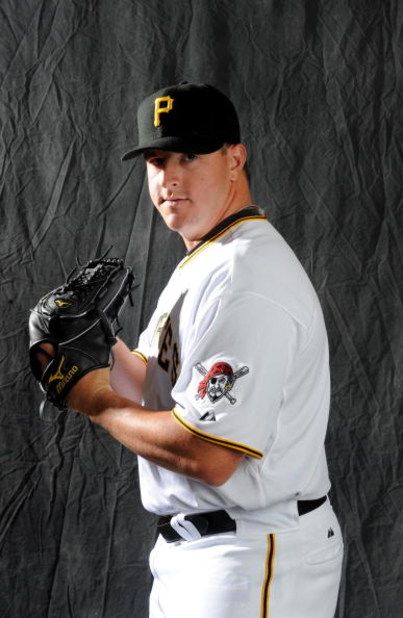BRADENTON, FLORIDA - FEBRUARY 22: Matt Capps #55 of the Pittsburgh Pirates poses during photo day at the Pirates spring training complex on February 22, 2008 in Bradenton, Florida. (Photo by Rob Tringali/Getty Images)