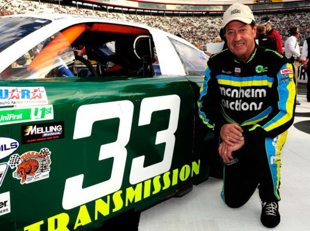 BRISTOL, TN - MARCH 21:  Harry Gant prepares to drive during the NASCAR Legends UARA Race at Bristol Motor Speedway on March 21, 2009 in Bristol, Tennessee.  (Photo by Rusty Jarrett/Getty Images for NASCAR)