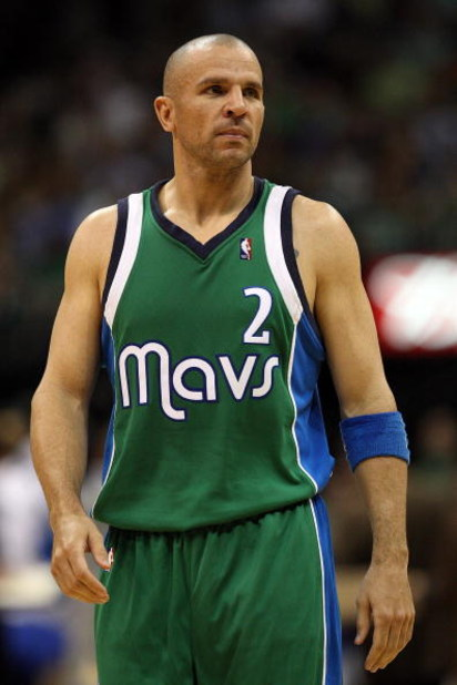 DALLAS - MARCH 17:  Jason Kidd #2 of the Dallas Mavericks during play against the Detroit Pistons on March 17, 2009 at American Airlines Center in Dallas, Texas.  NOTE TO USER: User expressly acknowledges and agrees that, by downloading and/or using this