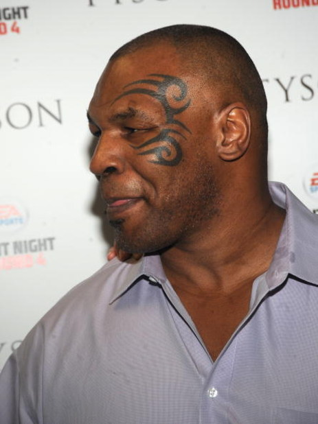NEW YORK - APRIL 20: Mike Tyson attends Sony Pictures Classics' screening of 'Tyson' at the AMC Loews 19th Street on April 20, 2009 in New York City, New York. (Photo by Brad Barket/Getty Images)