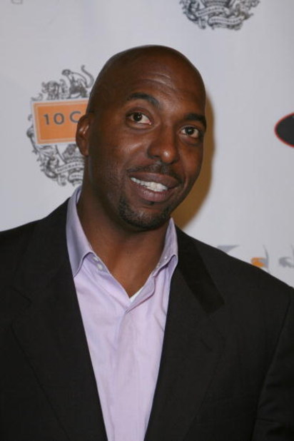 LOS ANGELES - OCTOBER 5: Former NBA player John Salley arrives at the Runway Magazine launch party held at Area nightclub on October 5, 2007 in West Hollywood, California. (Photo by Alberto E. Rodriguez/ Getty Images)