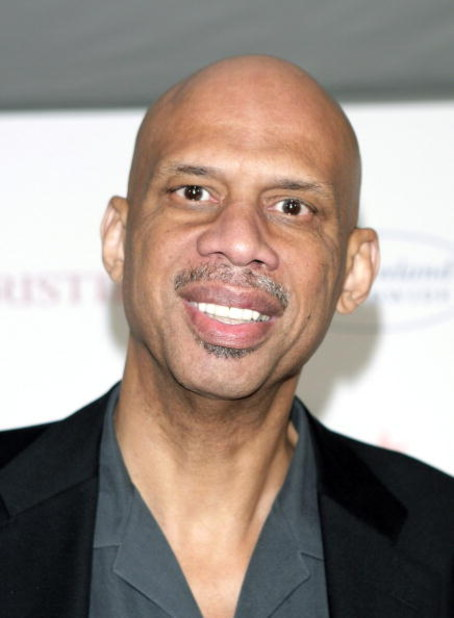 LOS ANGELES - DECEMBER 1:  Former NBA player Kareem Abdul-Jabbar arrives at a special performance of A.R. Gurney's 'Love Letters', with Dame Elizabeth Taylor and James Earl Jones, to benefit The Elizabeth Taylor HIV/AIDS Foundation at the Paramount Studio