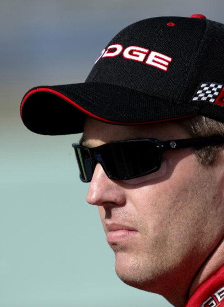 HOMESTEAD, FL - NOVEMBER 14 : Jeremy Mayfield, driver of the #19 Evernham Motorsports Dodge during qualifying for the NASCAR Winston Cup Ford 400, on November14, 2003 at Homestead-Miami Superspeedway in Homestead, Florida. (Photo By Darrell Ingham/Getty I