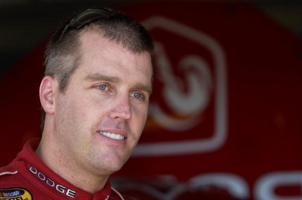 HOMESTEAD, FL - NOVEMBER 19:  Jeremy Mayfield, driver of the #16 Evernham Motorsports Dodge, during practice for the NASCAR Nextel Cup Series Ford 400 on November 19, 2004 at the Homestead Miami Speedway in Homestead, Florida.  (Photo by Rusty Jarrett/Get