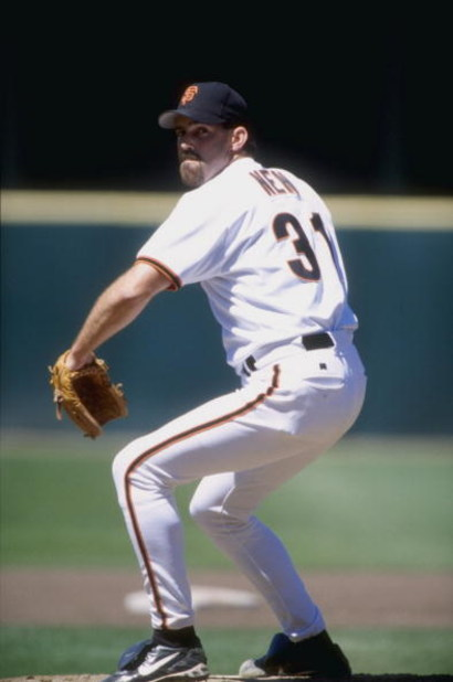 17 Jun 1998:   Robb Nen #31 of the San Francisco Giants in action during a game against the Colorado Rockies at 3Com Park in San Francisco, California. The Giants defeated the Rockies 6-3. Mandatory Credit: Otto Greule Jr.  /Allsport