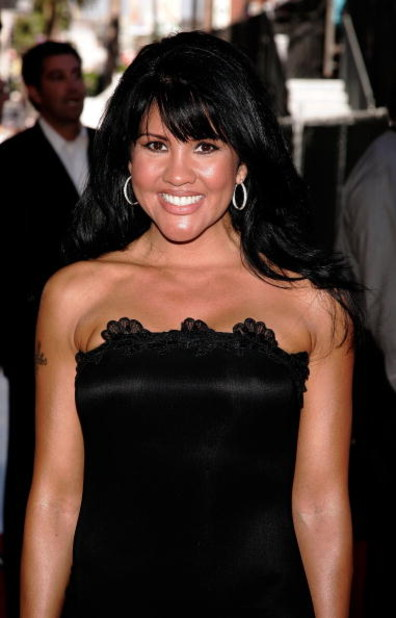 HOLLYWOOD - JULY 12:  Boxer Mia St. John arrives at the 2006 ESPY Awards at the Kodak Theatre on July 12, 2006 in Hollywood, California.  (Photo by Vince Bucci/Getty Images)