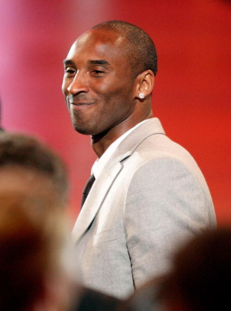 LOS ANGELES, CA - JULY 15:  NBA player Kobe Bryant walks onstage to accept the Best Team award on behalf of the Los Angeles Lakers during the 2009 ESPY Awards held at Nokia Theatre LA Live on July 15, 2009 in Los Angeles, California. The 17th annual ESPYs