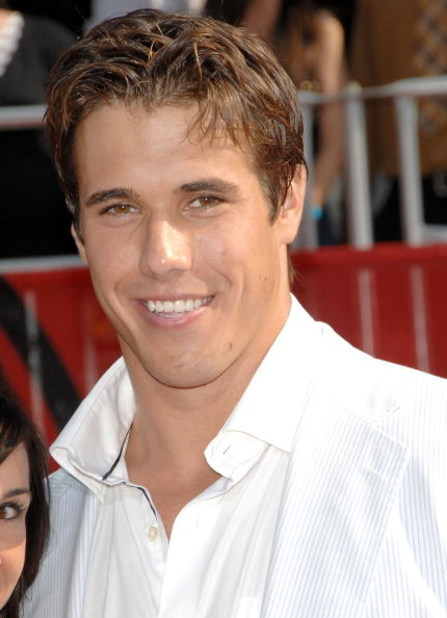 LOS ANGELES, CA - JULY 16:  NFL athlete Brady Quinn arrives at the 2008 ESPY Awards held at NOKIA Theatre L.A. LIVE on July 16, 2008 in Los Angeles, California.  The 2008 ESPYs will air on Sunday, July 20 at 9PM ET on ESPN.  (Photo by Stephen Shugerman/Ge
