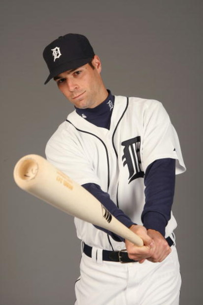 LAKELAND, FL - FEBRUARY 21:  Scott Sizemore #72 of the Detroit Tigers poses for a portrait during Photo Day on February 21, 2009 at Joker Marchant Stadium in Lakeland, Florida. (Photo by: Nick Laham/Getty Images)